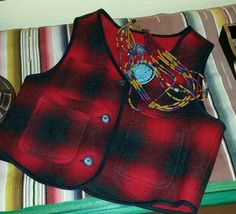 Woolrich Buffalo Plaid Vest Womans Size L Vintage 80s Hunting Fishing Camping Western Cowgirl Mountain Cabin Ranch Winter Wear Made in USA.  Etsy shop https://www.etsy.com/listing/492922504/woolrich-buffalo-plaid-vest-womans-size