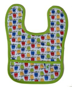 Sweet Pea Waterpr...  just added in store and online  http://www.bellylaughs.ca/products/sweet-pea-waterproof-bib?utm_campaign=social_autopilot&utm_source=pin&utm_medium=pin