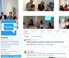 lees en vraag tips & trics over iPhone & iPad op de Twitter van iTraining https://twitter.com/itraining_be