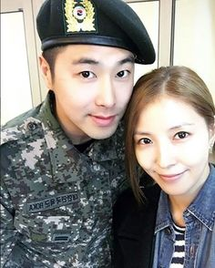 BoA 보아 made visit to TVXQ Yunho 정윤호 during his military service