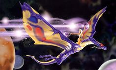 Sorrel's Dragons: a space dragon, today, from the pen of John Zeleznik.