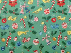 Vintage Christmas Wrapping Paper  Mini by TheGOOSEandTheHOUND, $6.00