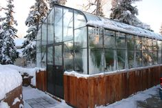 Anchorage Alaska greenhouse Anchorage Alaska, Greenhouses, Garden Landscaping, Gardens, Landscape, Building, Green Houses, Front Yard Landscaping, Scenery