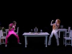 Scissor Sisters - She's My Man // Love this video. FYI: The camera never moves and it's just one take!