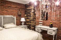 Bedroom application with our artificial stones. Dekoratif duvar ( kültür tuğlası ) kaplama yatak odası uygulaması http://www.countrystone.com.tr/