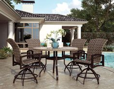 Embracing one of the hottest trends in the industry, Homecrest introduces our 2015 Woven collection. Combining Homecrest's renowned comfort and quality with the richness and elegance of hand-woven outdoor resin wicker, the resulting effect is uniquely beautiful and highly versatile.