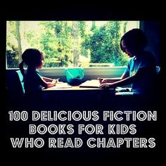 Kids flying through chapter books? Here are 100 fiction books for them to read. Some of my favorites from the list: The BFG, The Little Prince, and The Secret Garden. Which are your faves?