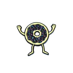 Donuts Pin by Gangtser Doodles from Valley Cruise Press