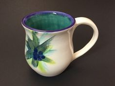 Handmade Ceramic Mug by LivingWaterPottery on Etsy