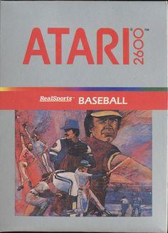 atari 2600 realsports baseball - Google Search