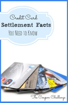 Don't be caught off guard.  You Need to Know these Credit Card Settlement Facts. This will help you to understand what a settlement is, and how it will affect you and your credit score in the long run.