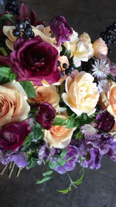 Prettiest Bridal Bouquets with movement by Wilder Floral Co is part of Flowers - Beautiful Flower Arrangements, Elegant Flowers, Wedding Flower Arrangements, Faux Flowers, Flower Bouquet Wedding, Bridal Bouquets, Floral Arrangements, Flower Bouquets, Beautiful Roses Bouquet