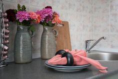 styling kitchen worktop