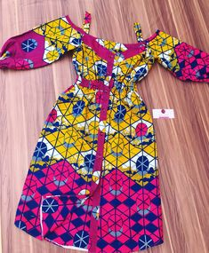Ankara Dress styles to rock in 2019 – African fashion and life styles – African Fashion Dresses - African Styles for Ladies African Dresses For Kids, African Wear Dresses, Ankara Dress Styles, Latest African Fashion Dresses, African Print Fashion, African Attire, Africa Fashion, African Children, African Prints