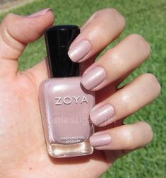 Zoya Pandora - this color is such a perfect nude/tan and doesn't chip! love it!