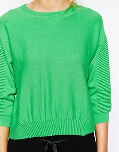 Shop French Connection Spring Mozart Cropped Jumper at ASOS. b6ba5b165