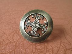 Dresser Knobs Drawer Knob Handle Pulls Antique Bronze / Decorative Knobs /  Kitchen Cabinet Knobs Handles