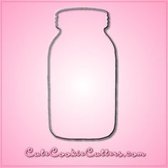 Mason Jar Cookie Cutter...I think this is the most Pinteresty thing ever!