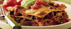 """Confused by the recipe title?  Fajita seasoning mix adds a Mexican twist to this Italian favorite.  Your family will shout """"Olé"""" when they taste this fusion lasagna!"""