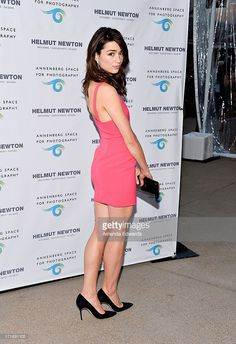 Actress Crystal Reed arrives at The Annenberg Space For Photography exhibit opening for 'Helmut Newton: White Women - Sleepless Nights - Big Nudes' at The Annenberg Space For Photography on June 27, 2013 in Century City, California.