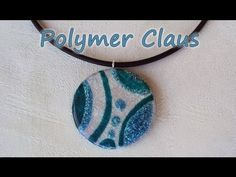 Glass effect polymer pendant by: MissiClaus ( https://www.facebook.com/pages/Polymer-Claus/143292372350726?ref=ts=ts )