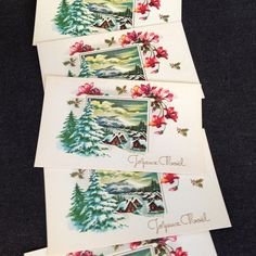Joyeux Noel. Vintage Holidays French Merry by MademoiselleChipotte, $7.95