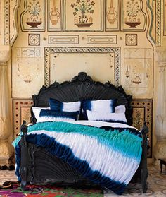 Etnic chic Tie dye bedding ~ Anthroplogy