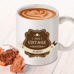 Personalised Father's Day Mug - Vintage Grandad