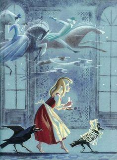 çizgili masallar: The Snow Queen by Nika Goltz: