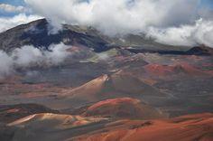 Haleakalā, Maui / via mamasaidbecool.pl