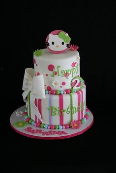 Hello Kitty Cake-sigh. SO adorable!