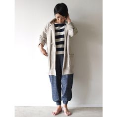 Antiquités wool border wide pull over