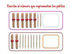 Resultado de imagen de abn dibujos de los palillos para fichas