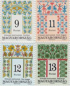 ハンガリーの刺繍切手 もっと見る