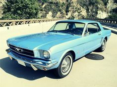 Immaculate 1965 Ford Mustang.