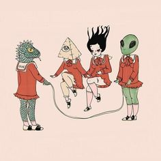 Feed into your alien obsession in celebration of national extraterrestrial abduction day. Although we're a few days late, here at Valfre it's always an extraterrestrial day. Scroll on to see to our alien inspired mood board. Kunst Inspo, Art Inspo, Arte Alien, Alien Aesthetic, Paper Artwork, Bizarre, Arte Horror, Psychedelic Art, Art Design