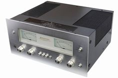 Kenwood 700M Stereo Power Amplifier (1974-77) Power output: 170 watts per channel into 8Ω (stereo)