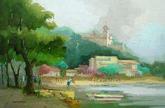 Igreja do Ouro Vista da Praia da Engenhoca