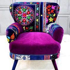 Bohemian chair...
