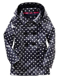 Gap | Uniform dot raincoat