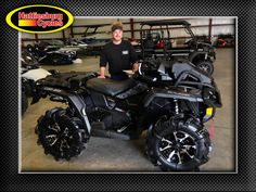 Thanks to Ty Byrd from Terry MS for getting a 2017 Can-Am Outlander Xmr 1000R @HattiesburgCycles