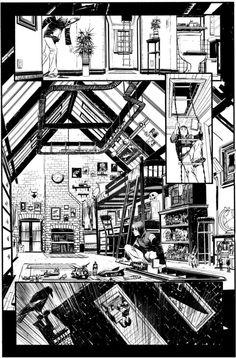 """Joe 1"" by *seangordonmurphy - Cartoons & Comics / Traditional Media / Comics / Pages"
