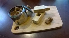 Sugar Cube Maker: I've always wanted to buy brown sugar cubes but could never find them. So, I decided to make this simple sugar cube maker. Thanks to all who voted for me for the Sugar Contest! Woodworking Kit For Kids, Woodworking Projects, Scrap Wood Projects, Crafty Projects, Craft Projects For Adults, Craft Ideas, Simple Sugar, Wood Oil, Sugar Cubes