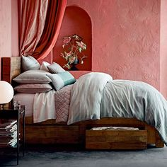 Emmerson® Reclaimed Wood Storage Bed - Natural | west elm