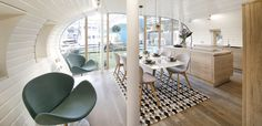 #smallspace #diningroom #kitchen | Sustainable ARC home with interior design by BoConcept