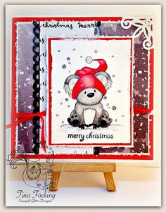 Winter Kiddles Digital Stamp by Sasayaki Glitter Naz Line