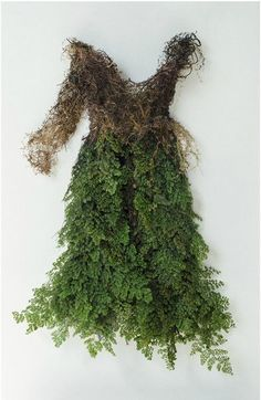 forestlore: Dress form forest moss and Fern http:www.catherinelatson.com/