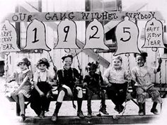 Our Gang / Little Rascals - New Years 1925