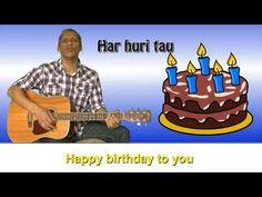 Translation: Hari huri tau ki a koe Hari huri tau ki a koe Hari huri tau ki a koe Hari huri tau ki a koe Happy Birthday to you Happy Birthday to you Happy Bi. Sing Along Songs, Singing, Happy Birthday, Youtube, Maori, Happy Brithday, Urari La Multi Ani, Happy Birthday Funny, Youtubers