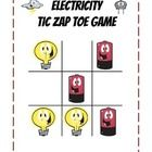 "Students are highly engaged when playing this ""Tic-Zap-Toe"" electricity game to reinforce science concepts. I use it as an assessment review to reinforce meanings and concepts highlighted in the curriculum. There are 32 electricity question cards which display concepts about electricity. $"